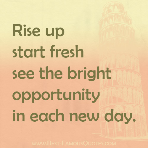 Inspirational Day Quotes: Opportunity Quotes Motivational. QuotesGram