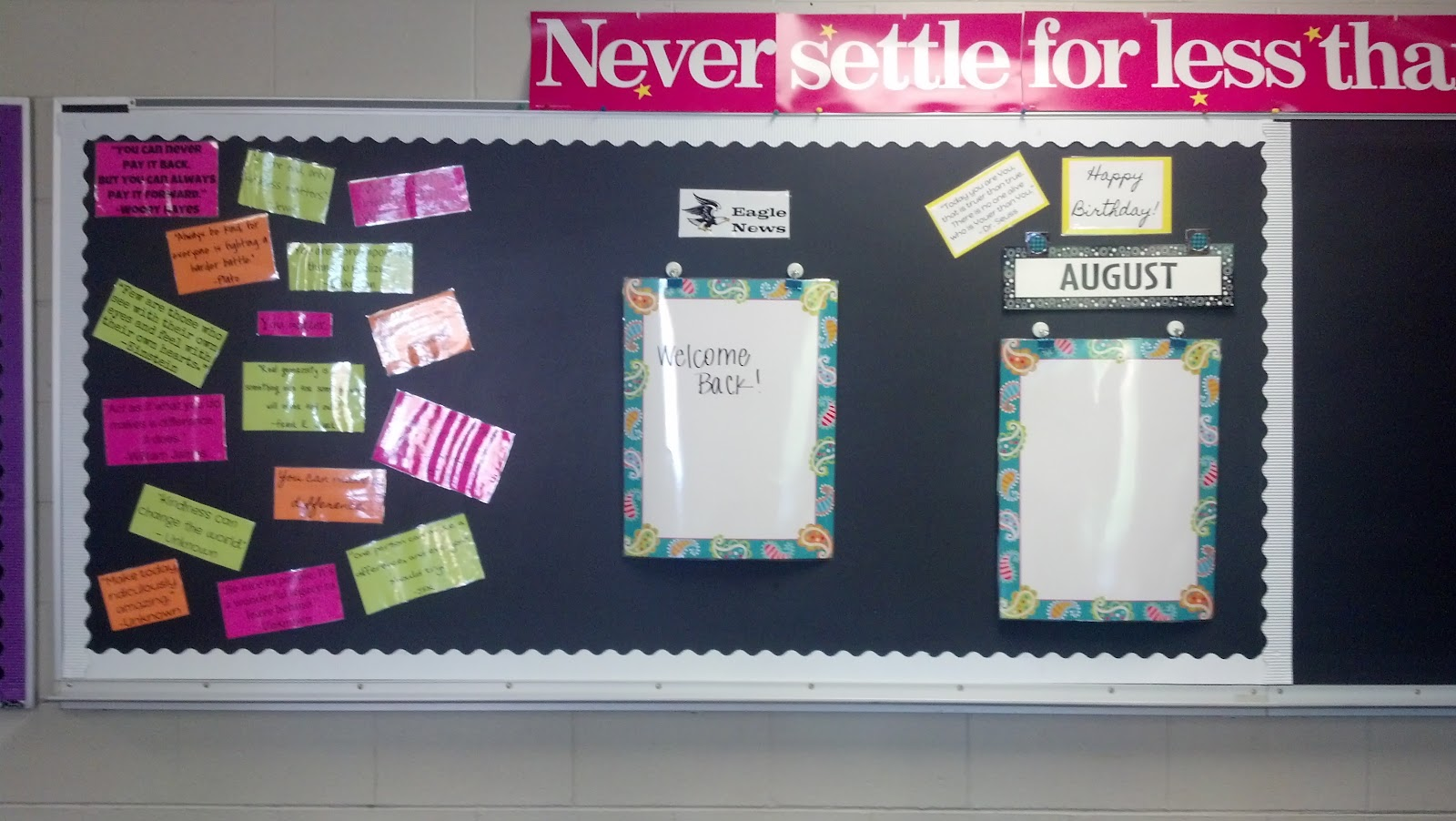 Classroom Bulletin Board Ideas High School : High school bulletin board quotes quotesgram
