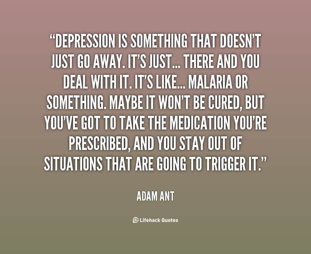 quotes quotes about depression quotesgram