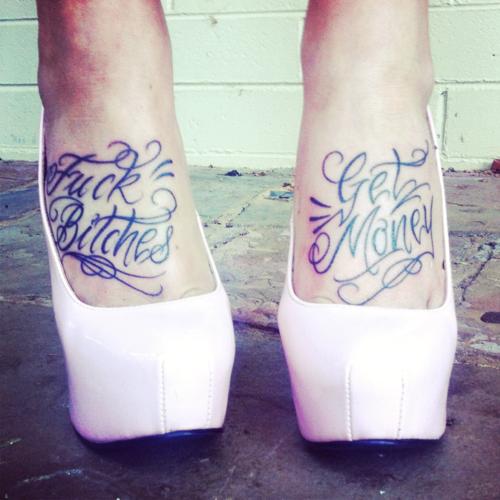 Cute Feet Tattoo Quotes. QuotesGram
