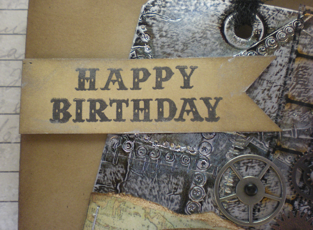 Открытка стимпанк с днем рождения