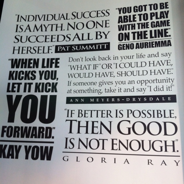 Motivational Quotes For Sports Teams: Inspirational Quotes From Women Leaders. QuotesGram