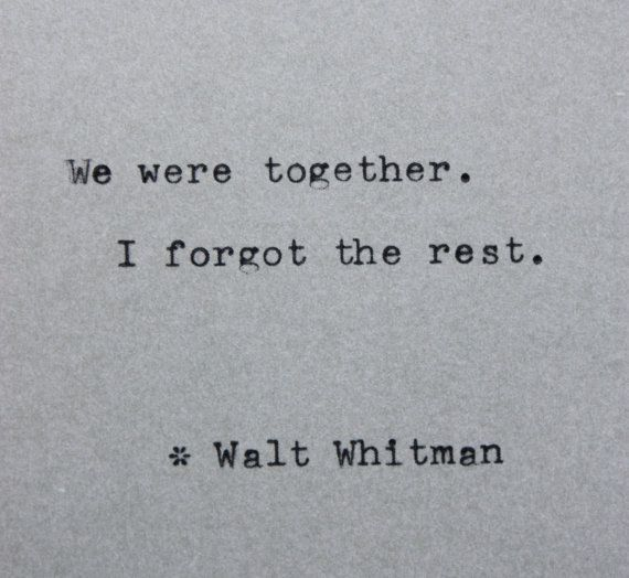 the life and writings of walt whitman Walter was close to his mother during her entire life and she provided the  one  of his superiors did not like or agree with whitman's past writings, and fired him.