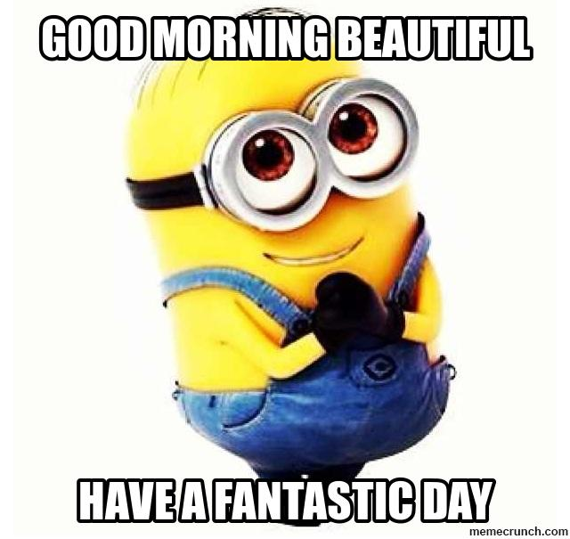 Minion Quotes Good Morning QuotesGram