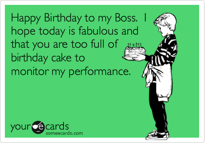 Funny Birthday Cards For Your Boss Cute Birthday Gift – Funny Birthday Cards for Your Boss