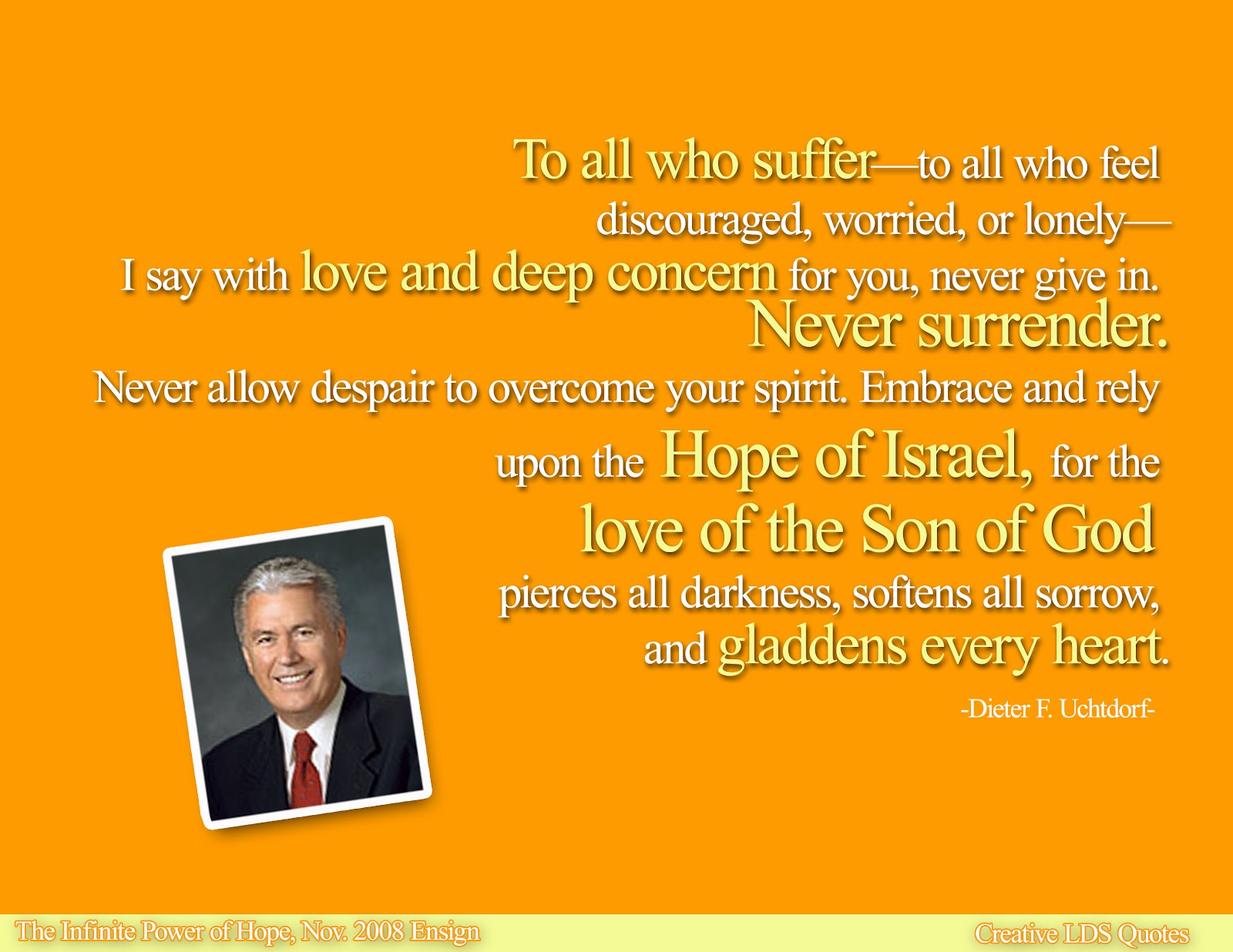 lds quotes on hope - photo #28