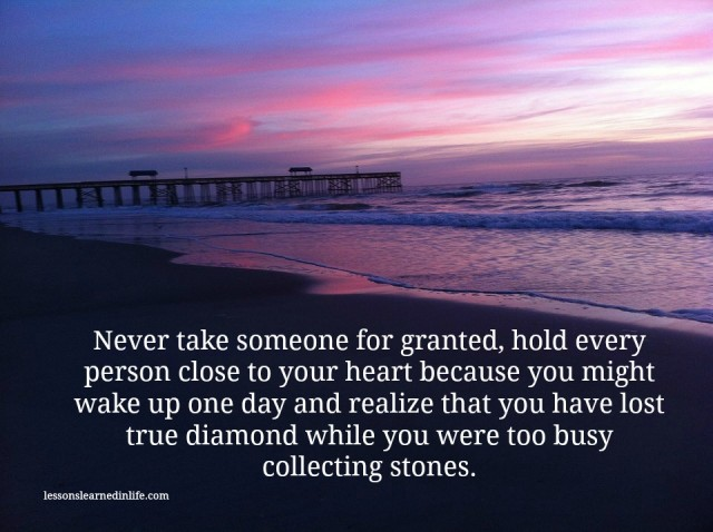 Taking You For Granted Quotes. QuotesGram