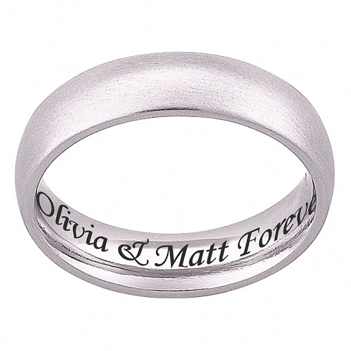 Quotes Engraved Wedding Band. QuotesGram
