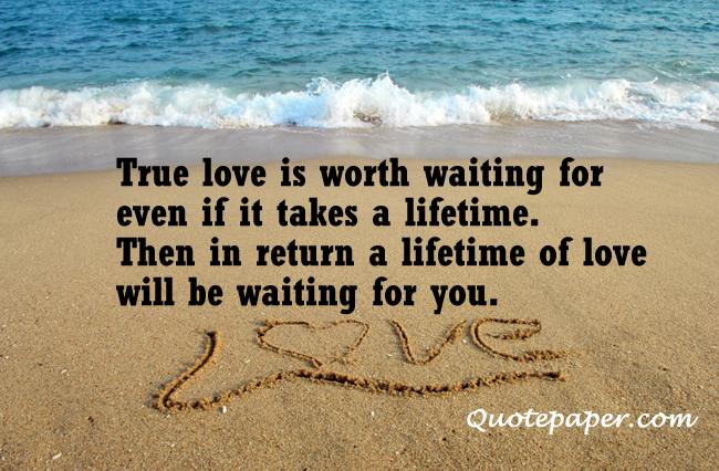 Quotes True Love Is Worth It. QuotesGram