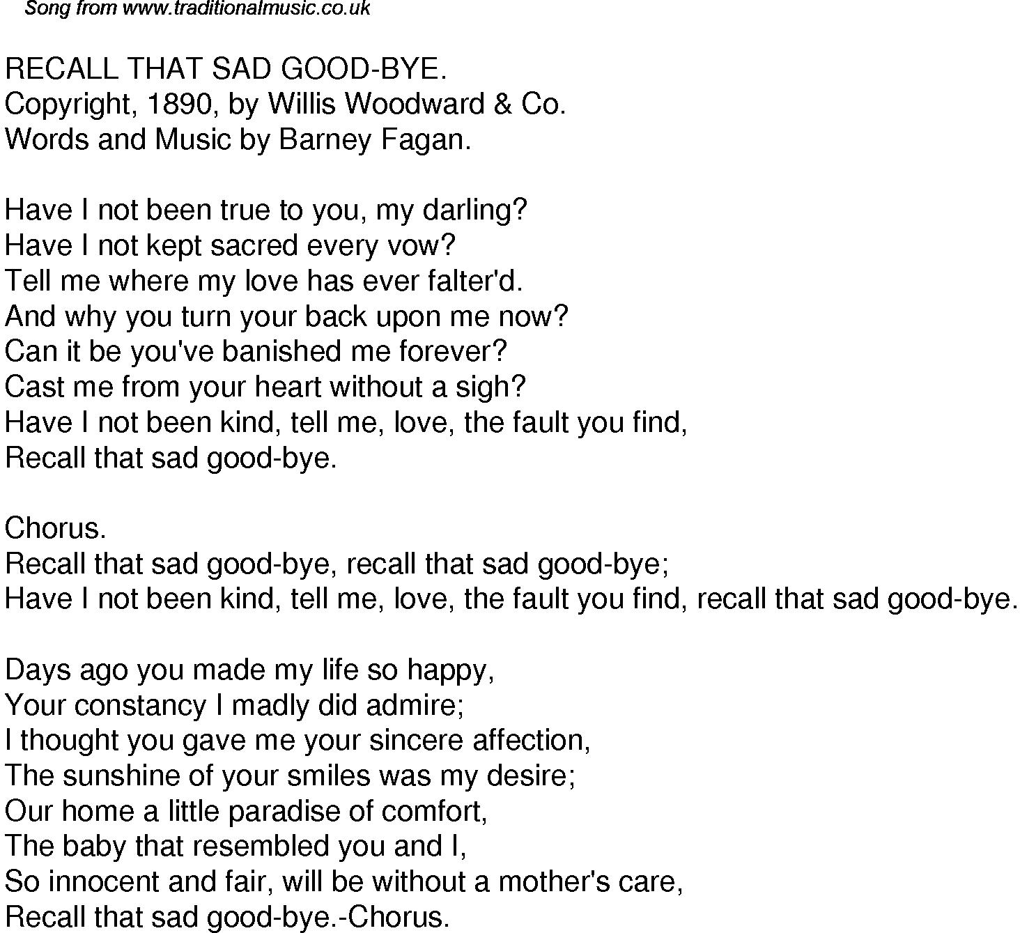 I Could Write A Book Lyrics