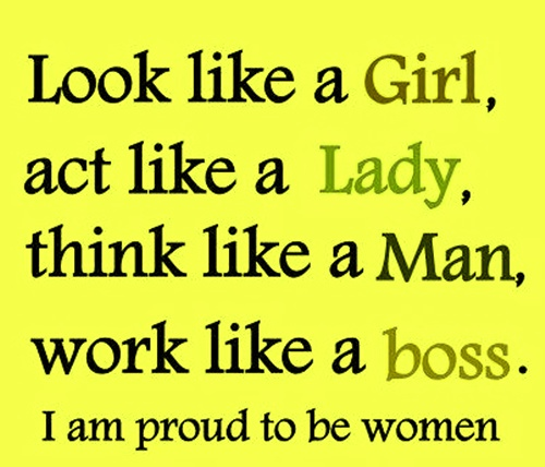 i am proud to be a girl essay How to be proud of who you are pride and self-confidence come from healthy self-esteem, the positive beliefs that you hold about yourself, your talents, and your accomplishments.