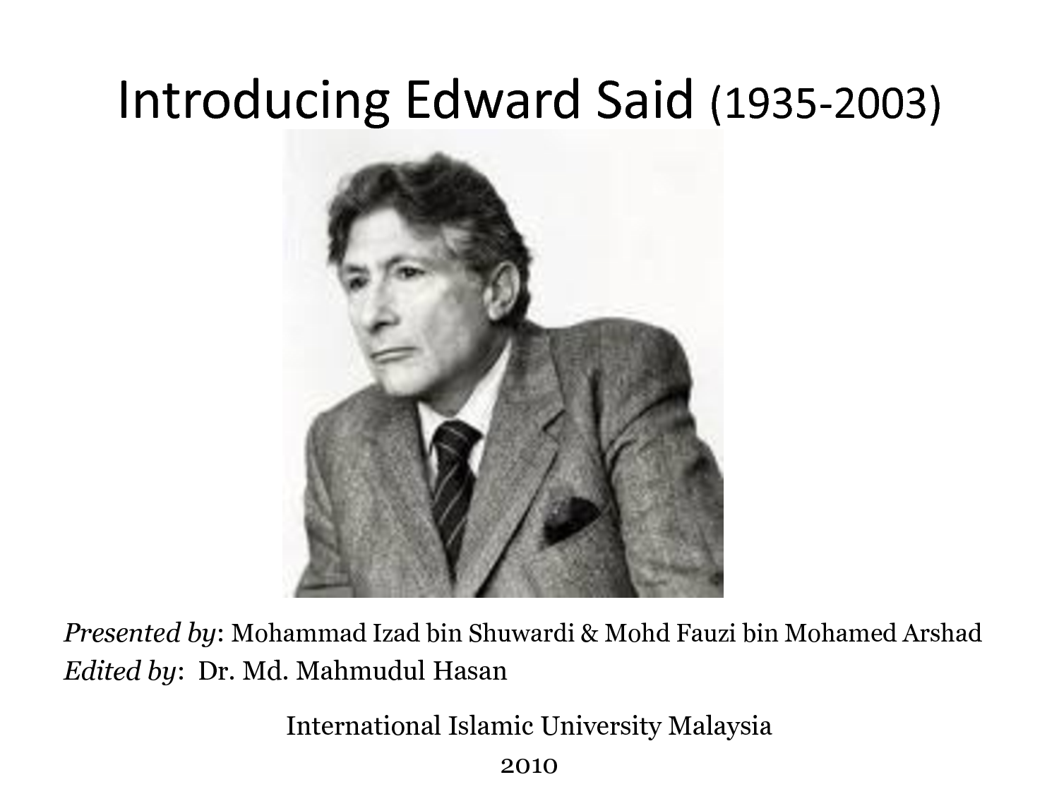 an analysis of orientalism by edward said Any summary of said's immensely subtle analysis of western attitudes and conduct towards the east risks becoming a travesty • orientalism by edward said.