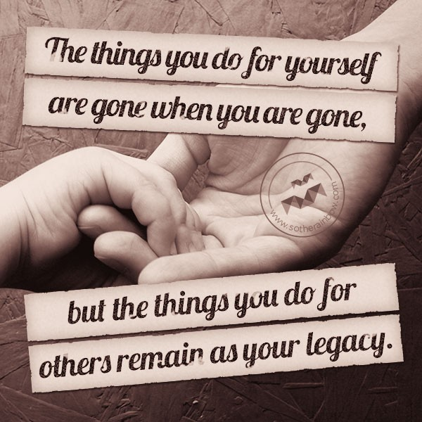Legacy Quotes: Legacy Of Love Quotes. QuotesGram