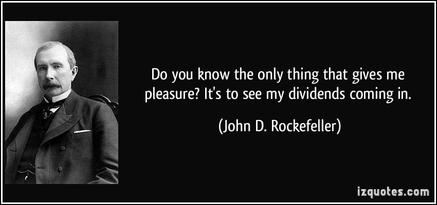 Image result for dividend quote