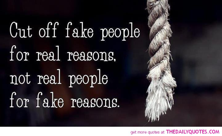 Quotes About Fake Relationships: Famous Quotes About Fake People. QuotesGram