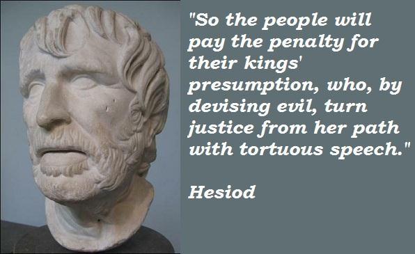 Hesiod Quotes  Quotesgram