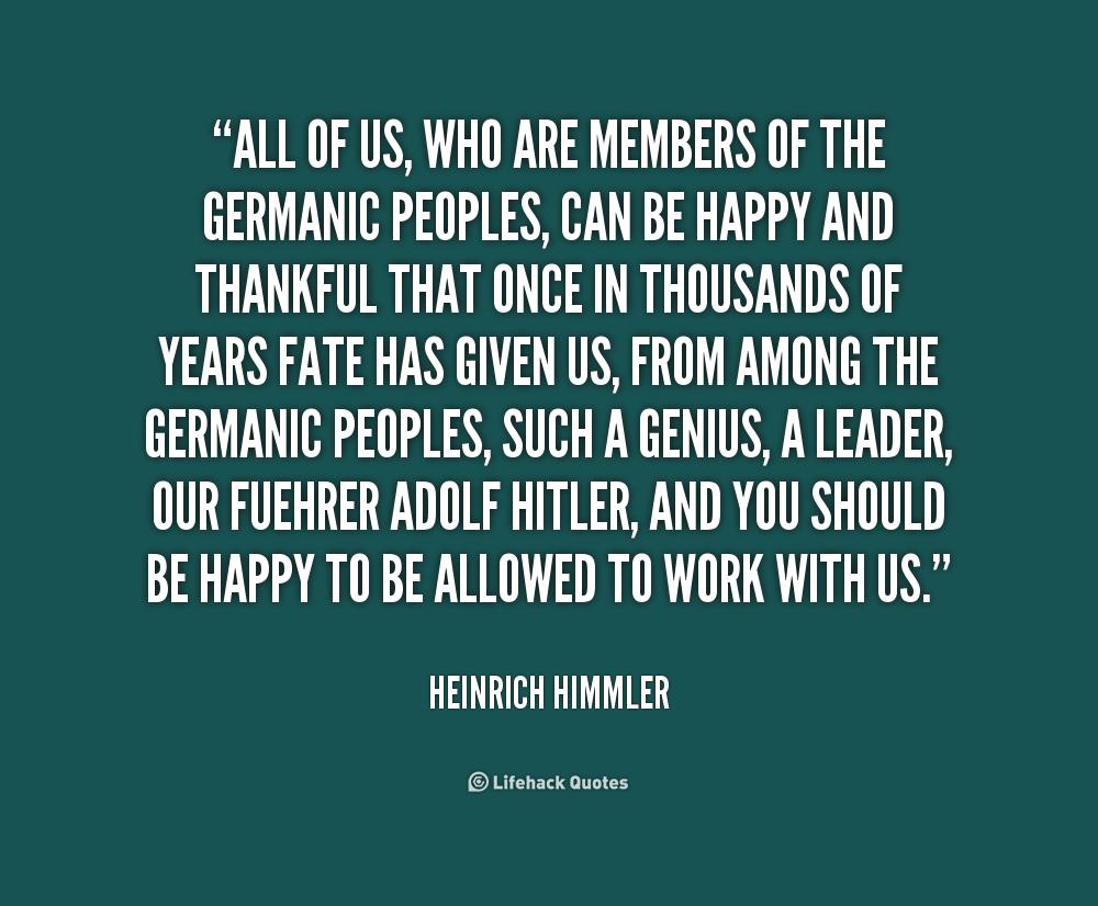 the life of heinrich himmler Heinrich himmler, hitler, germany, history, world - the beliefs and life of heinrich himmler.