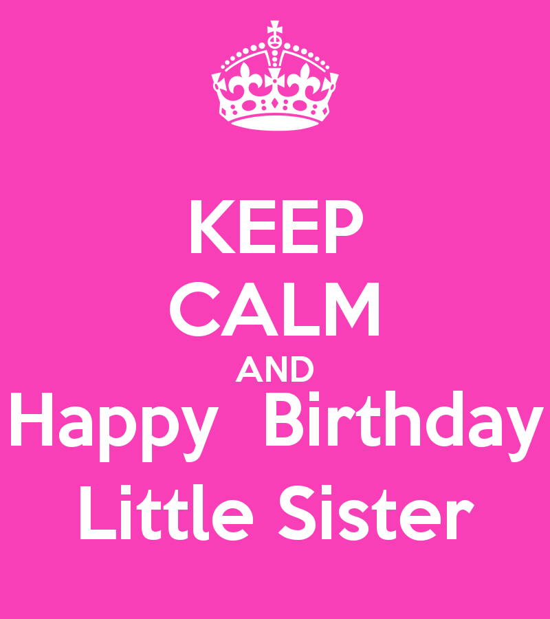 Happy Birthday Little Sister Quotes. QuotesGram