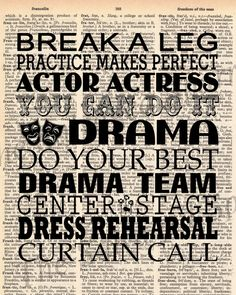 Quotes About Drama And Theatre QuotesGram