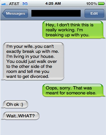 how to make a girl break up with you