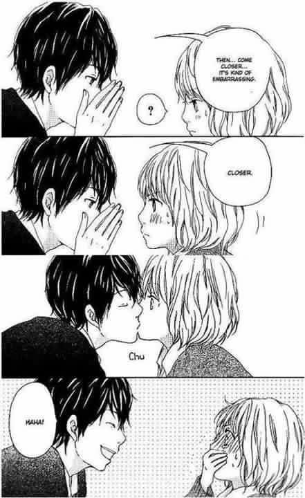 Anime Couple Kissing Quotes. QuotesGram