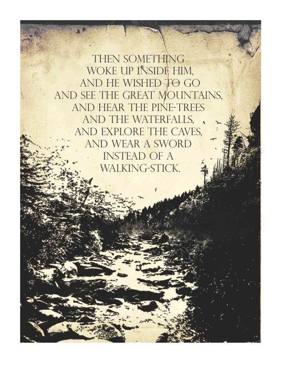 Good Morning Hobbit Quote: Inspirational Quotes From The Hobbit. QuotesGram