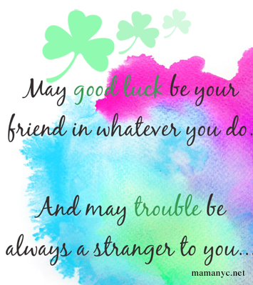 Quotes About Luck And Blessings. QuotesGram