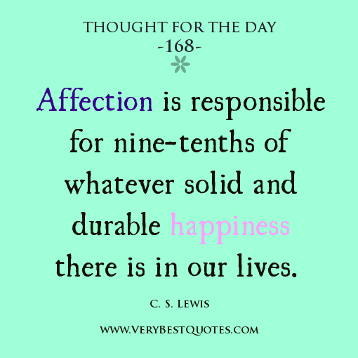 Quotes About Love: Thought For The Day Quotes. QuotesGram