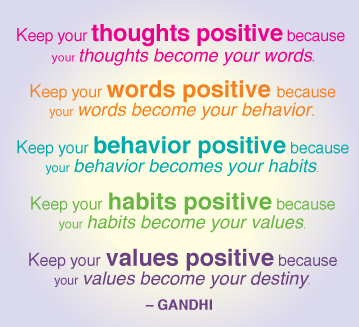 Positive interaction and communication with individuals