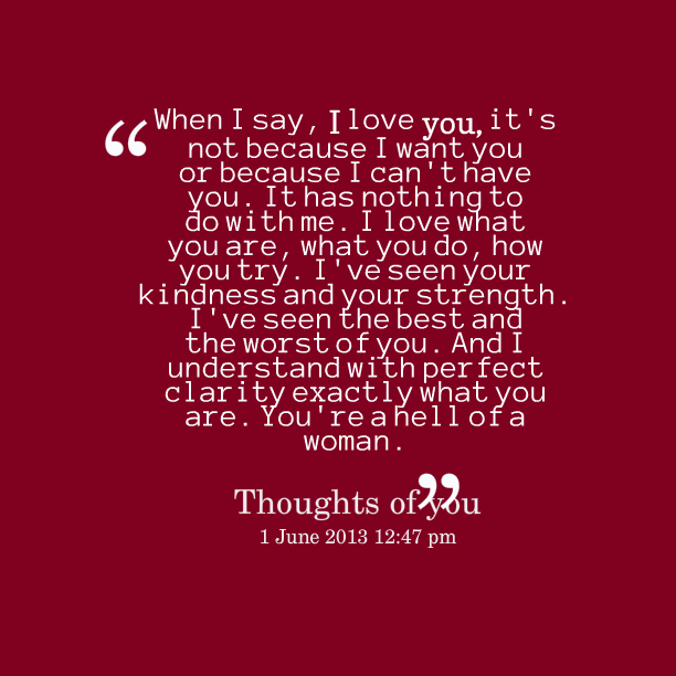 I Love You Quotes: I Love You Because Quotes. QuotesGram