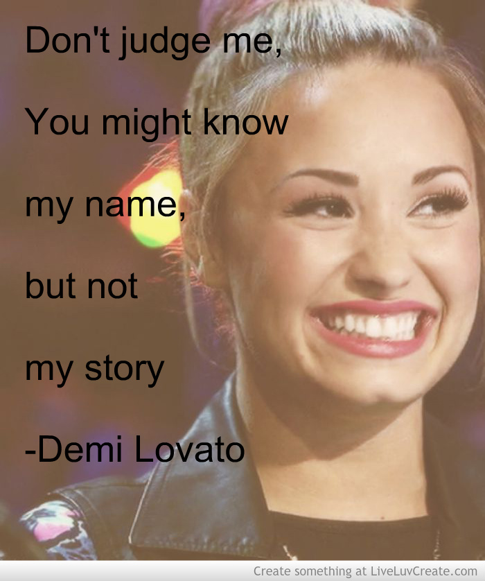 Demi Lovato Quote Quotes
