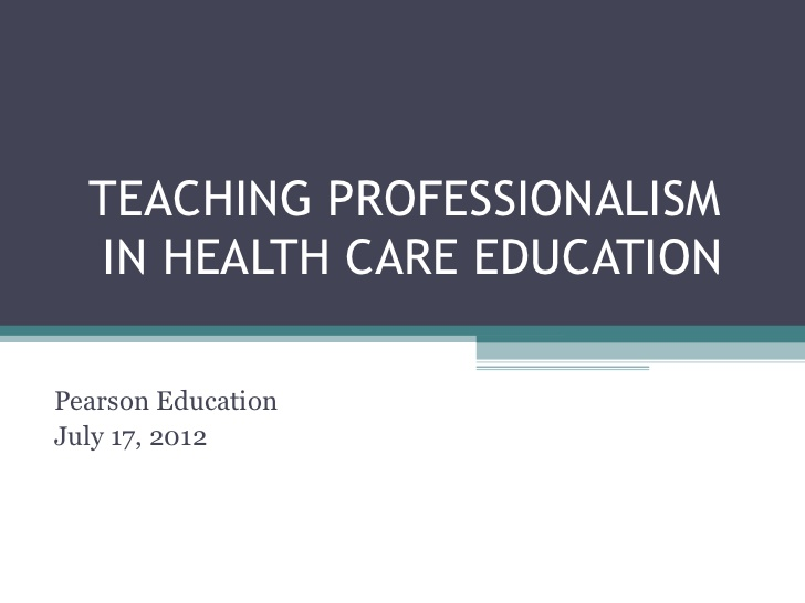 Chapter Professionalism, Teacher Efficacy, and Standards-Based Education