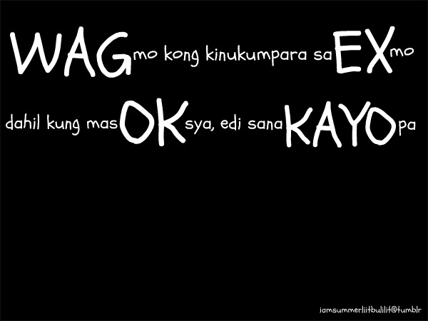 tagalog crush quotes for boys quotesgram
