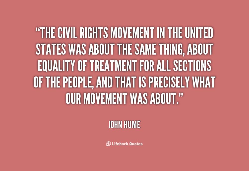 Civil Rights Movement Quotes Quotesgram