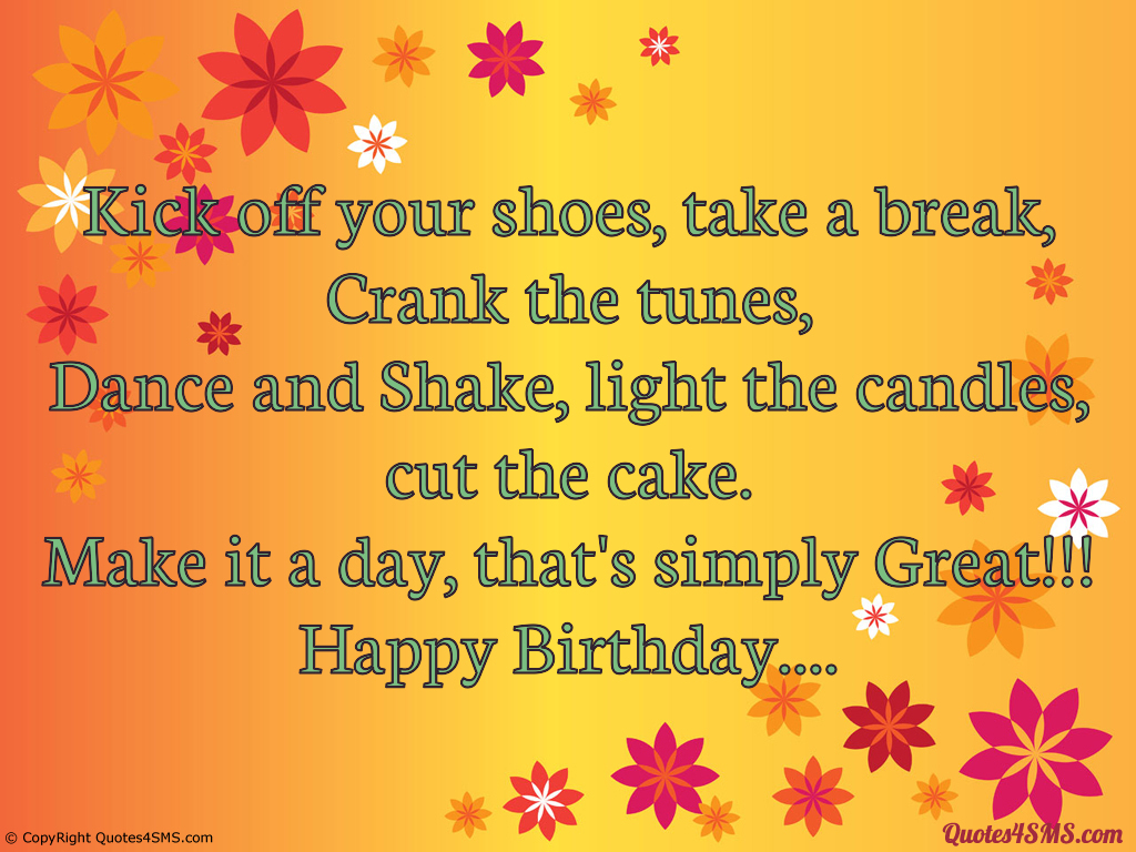 Happy Birthday Shoe Quotes Quotesgram