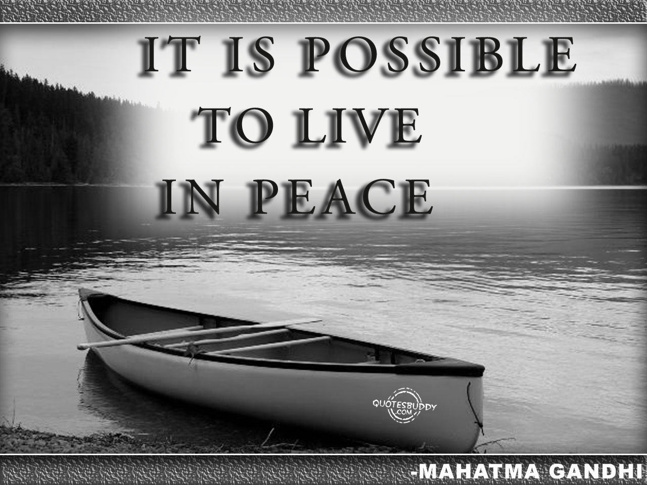 Peace Quotes And Sayings Quotesgram: Quotes By Gandhi About Peace. QuotesGram