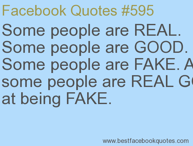 Best Quotes On Fake Peoples: Fake People Quotes For Facebook. QuotesGram