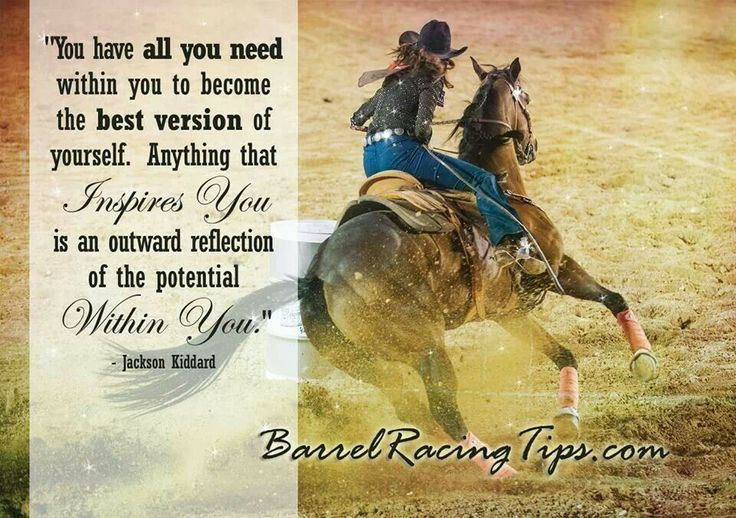 barrel racing quotes tumblr - photo #32