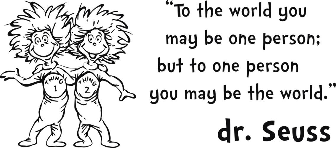dr seuss encouraging quotes in black and white quotesgram