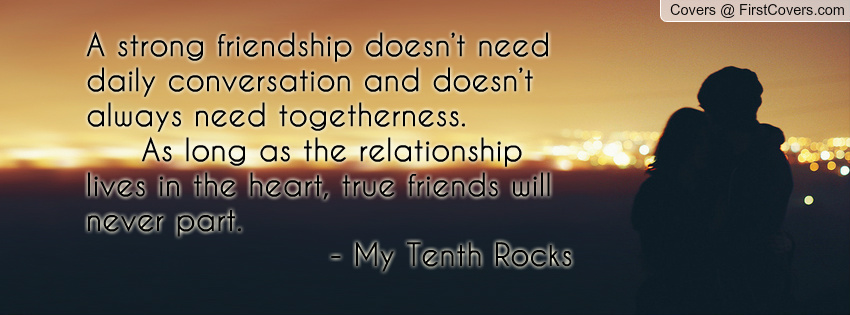 Strong Friendship Quotes. QuotesGram