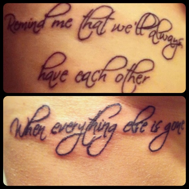 Three Sisters Tattoos Quotes. QuotesGram