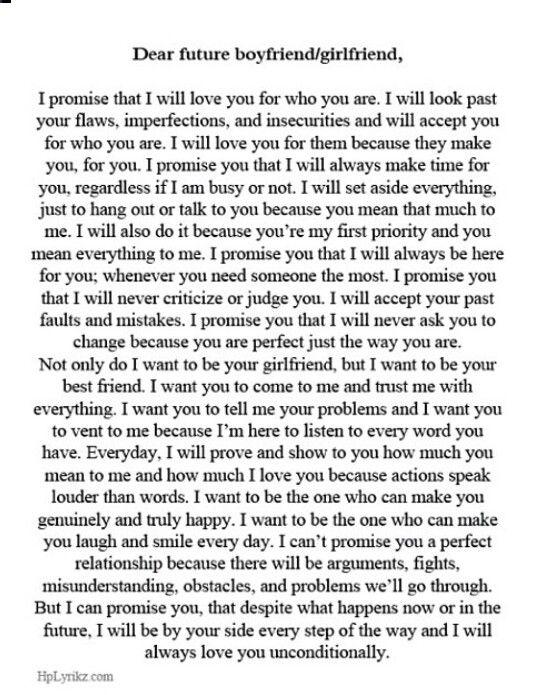 Quotes my future boyfriend Love Quotes