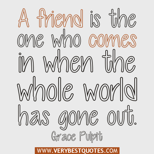 Gone Friends Quotes Pics: True Friendship Quotes And Sayings. QuotesGram