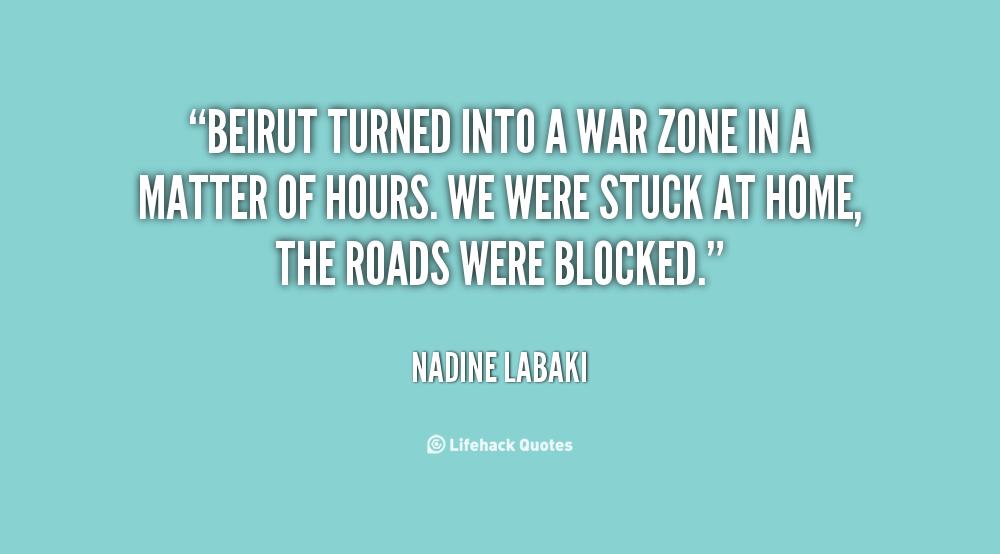 War Zone Quotes. QuotesGram