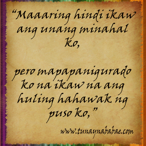 Quotes Tagalog Love Quotes. QuotesGram