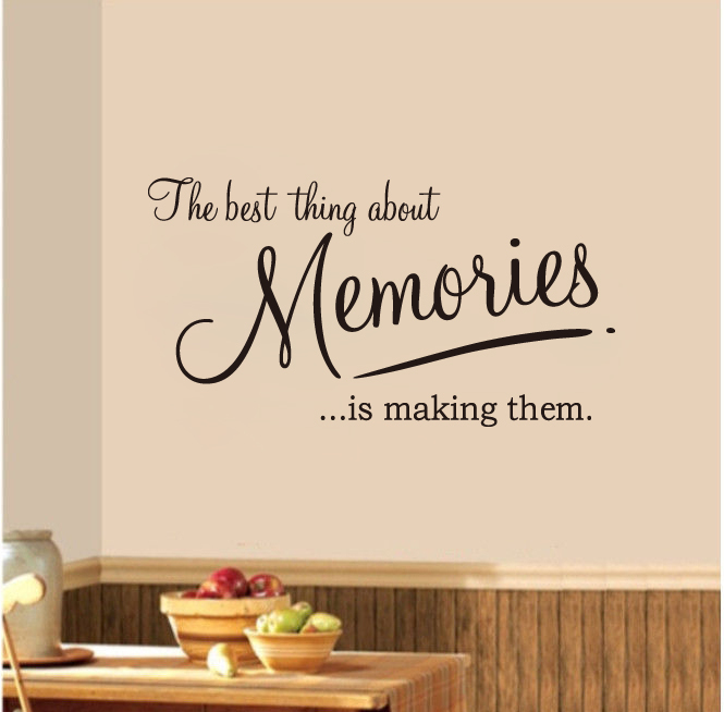 Decorative wall words quotes quotesgram for Home decor quotes on wall