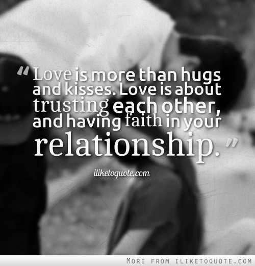 Love And Faith Quotes: In Love Quotes Having Faith. QuotesGram