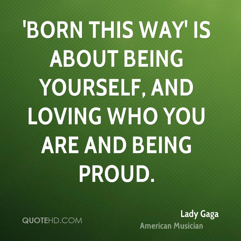 Lady Gaga Quotes About Being Different. QuotesGram