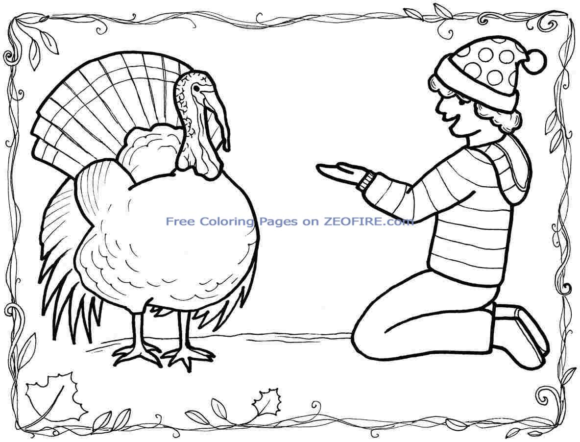 Amazing image with regard to turkey printable coloring page