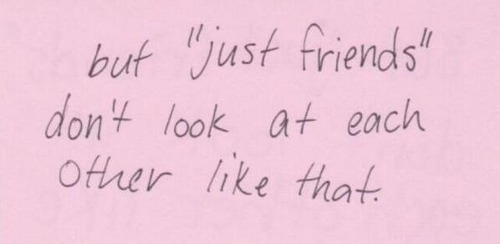 Lets just be friends quotes